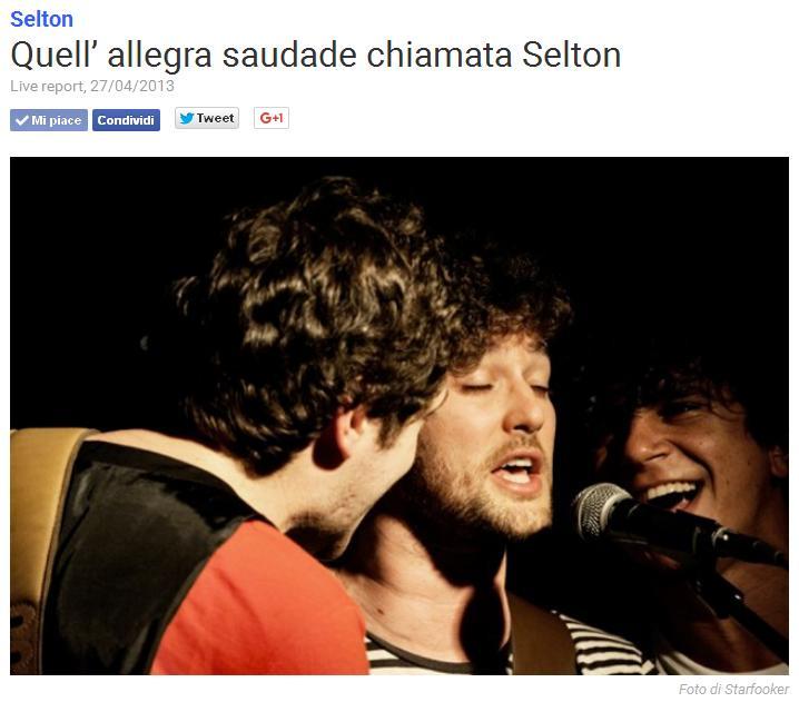 Live Report | SELTON